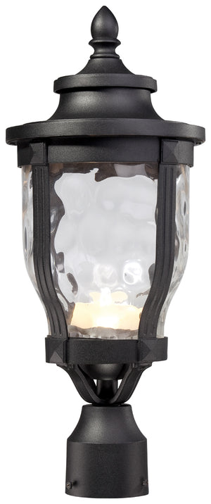 Merrimack 1 Light Outdoor Post Mount In Black Finish by Minka Lavery 8766-66-L