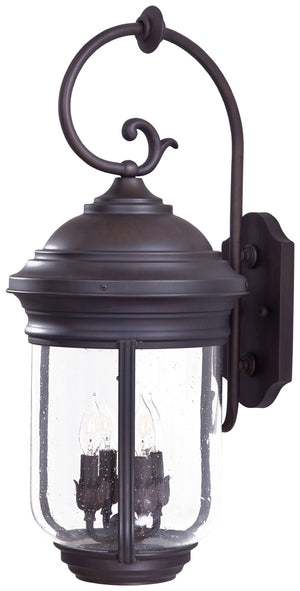 Amherst 4 Light Outdoor Pendant In Roman Bronze Finish by Minka Lavery 8812-57