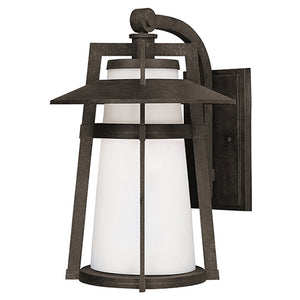Maxim Lighting 88534SWAE Calistoga LED 1-Light Outdoor Wall Lantern in Adobe Finish