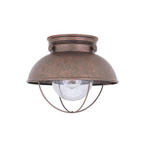 Sebring 1 Light Outdoor Lighting in Weathered Copper Finish by Sea Gull 8869-44
