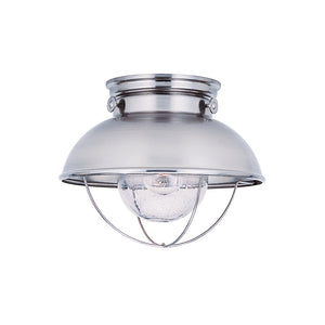 Sebring 1 Light Outdoor Lighting in Brushed Stainless Finish by Sea Gull 8869-98