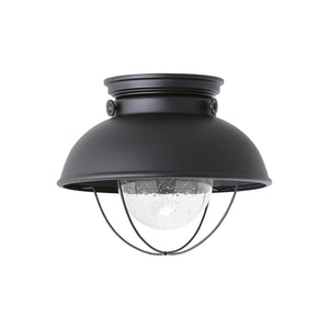 Sebring 1 Light Outdoor Lighting in Black Finish by Sea Gull 886993S-12