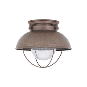 Sebring 1 Light Outdoor Lighting in Weathered Copper Finish by Sea Gull 886993S-44