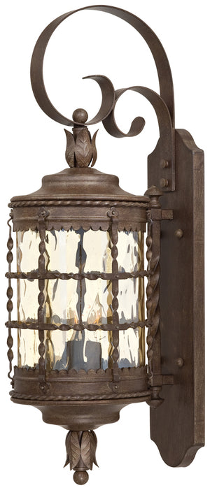 Mallorca 2 Light Outdoor Pendant In Vintage Rust Finish by Minka Lavery 8881-A61