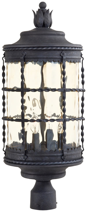Mallorca 4 Light Outdoor Pendant In Spanish Iron Finish by Minka Lavery 8886-A39