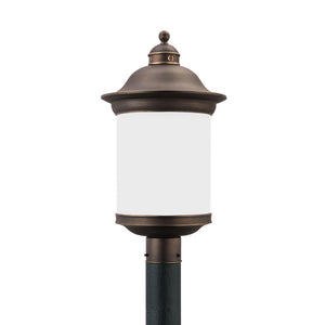 Hermitage 1 Light Outdoor Lighting in Antique Bronze Finish by Sea Gull 89298EN3-71