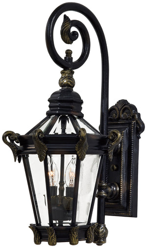 Stratford Hall 2 Light Outdoor Pendant In Heritage  Finish by Minka Lavery 8931-95