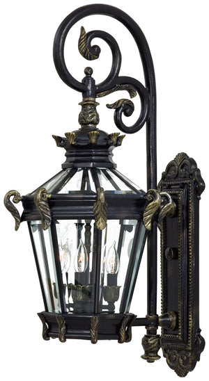 Stratford Hall 4 Light Outdoor Pendant In Heritage  Finish by Minka Lavery 8932-95