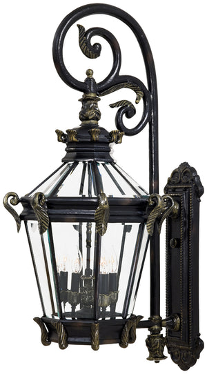 Stratford Hall 5 Light Outdoor Pendant In Heritage  Finish by Minka Lavery 8933-95
