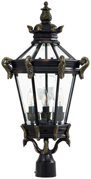 Stratford Hall 4 Light Outdoor Pendant In Heritage  Finish by Minka Lavery 8936-95