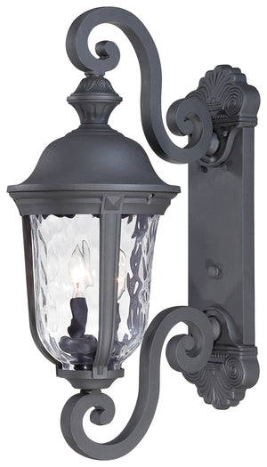 Ardmore 2 Light Outdoor Pendant In Black Finish by Minka Lavery 8991-66