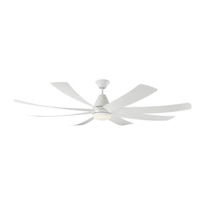 "Kingston 72"" Matte White Indoor Ceiling Fan by Monte Carlo Fans 8KGR72RZWD"