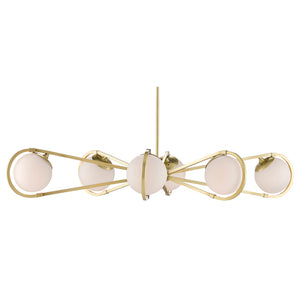Montvale Chandelier in Brushed Brass by Currey and Company 9000-0585
