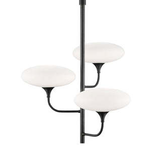 Solfeggio Small Chandelier in Oil Rubbed Bronze by Currey and Company 9000-0587