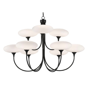 Solfeggio Large Chandelier in Oil Rubbed Bronze by Currey and Company 9000-0588