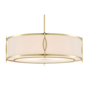 Junia Pendant in Brushed Brass by Currey and Company 9000-0589