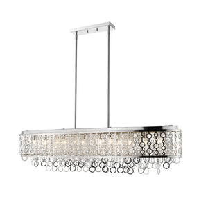 Bijou 12 Light Island/Billiard in Chrome by Z-Lite 9002L56-CH