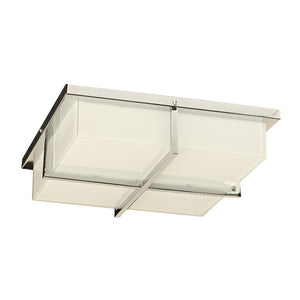PLC Lighting 90056PC Tazza Collection 1 Light Vanity in Polished Chrome Finish