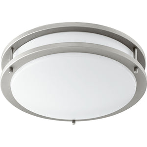 1 Light Ceiling Mount in Satin Nickel Finish 903-12-65