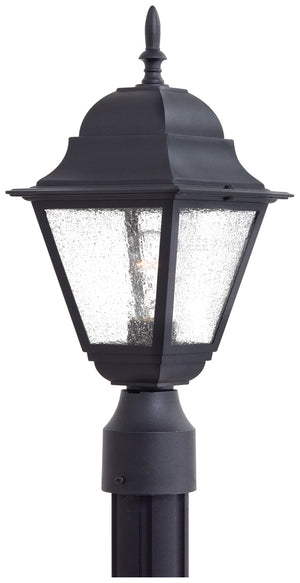 Bay Hill 1 Light Outdoor Pendant In Black Finish by Minka Lavery 9066-66