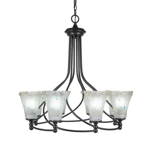 Toltec 908-DG-721 Chandeliers in Finish