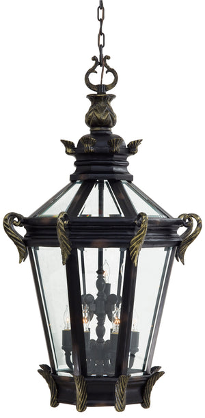 Stratford Hall 9 Light Outdoor Pendant In Heritage  Finish by Minka Lavery 9094-95