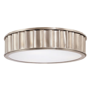 Middlebury 3 Light Flush Mount By Hudson Valley 912-HN in Historic Nickel Finish