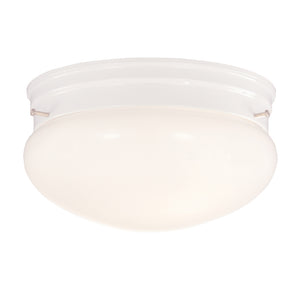 Flush Mount 2 Light Flush Mount  in White Finish by Savoy House 922-WHT