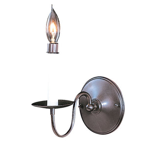 1 Light Mahogany Bronze Jamestown Sconce by Framburg F-9221 MB
