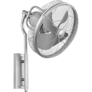 Veranda Patio Fan in Satin Nickel Finish 92413-65