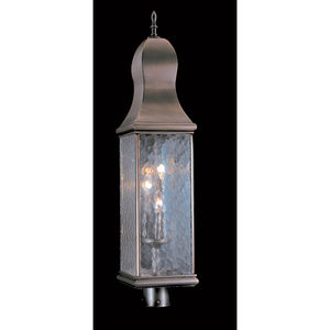 3 Light Harvest Bronze Marquis Exterior Post Mount by Framburg F-9270 HB
