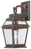 Crossroads Point 1 Light Outdoor Pendant In Architectual Bronze Finish by Minka Lavery 9281-171