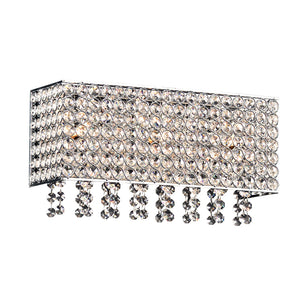 PLC Lighting 92921PC Alexa Collection 3 Light Vanity in Polished Chrome Finish