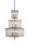 Bevilacqua Medium Chandelier by Currey and Company 9309