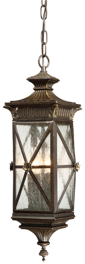 Rue Vieille 4 Light Outdoor Pendant In Forged Bronze Finish by Minka Lavery 9314-586