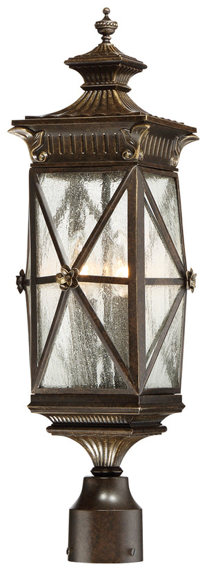 Rue Vieille 4 Light Outdoor Pendant In Forged Bronze Finish by Minka Lavery 9316-586