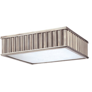 Middlebury 3 Light Flush Mount By Hudson Valley 932-HN in Historic Nickel Finish
