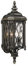 Bexley Manor 4 Light Outdoor Pendant In Black  Finish by Minka Lavery 9321-585