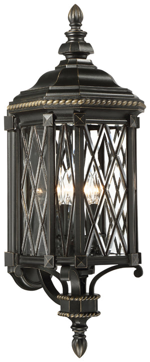 Bexley Manor 4 Light Outdoor Pendant In Black  Finish by Minka Lavery 9322-585