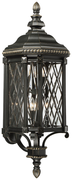 Bexley Manor 6 Light Outdoor Pendant In Black  Finish by Minka Lavery 9323-585