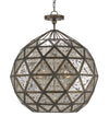 Buckminster Orb Chandelier by Currey and Company 9436