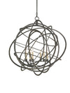 Genesis Black Orb Chandelier by Currey and Company 9488