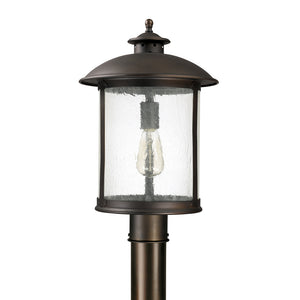 Capital Lighting Dylan 9565OB 1 Light Outdoor Post Lantern in Old Bronze