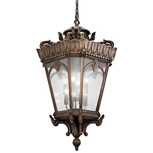 Tournai 8 Light Outdoor Hanging Pendant in Londonderry Finish by Kichler 9568LD