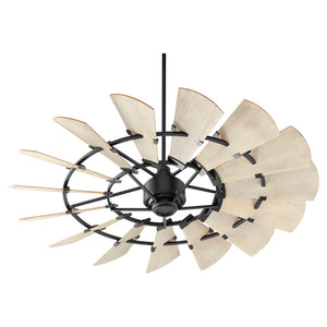 Windmill Ceiling Fan in Noir Finish 96015-69