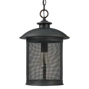 Capital Lighting Dylan 9614OB 1 Light Outdoor Post Lantern in Old Bronze