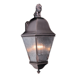 4 Light Iron Coeur De Lion Exterior Wall Mount by Framburg F-9615 IRON