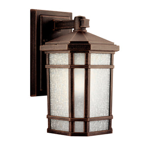 Cameron 1 Light Outdoor Wall Sconce in Prairie Rock Finish by Kichler 9718PR