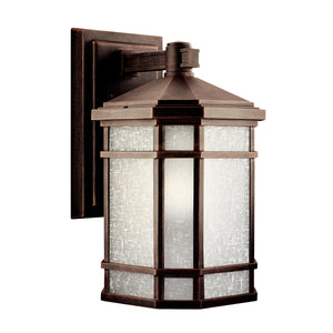 Cameron 1 Light Outdoor Wall Sconce in Prairie Rock Finish by Kichler 9719PR