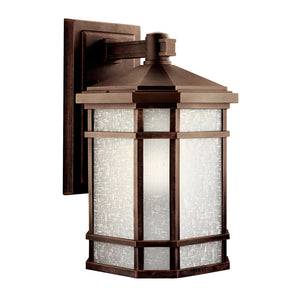 Cameron 1 Light Outdoor Wall Sconce in Prairie Rock Finish by Kichler 9720PR